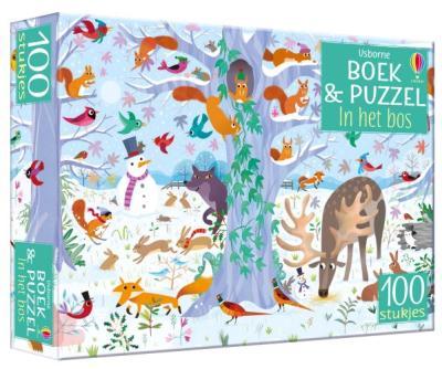 Boek & Puzzel In het bos