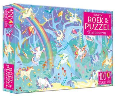 Boek & Puzzel Eenhoorns