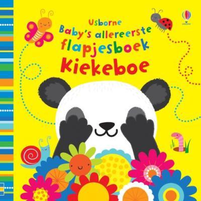 Baby's allereerste speel- en voelboekje Kiekeboe