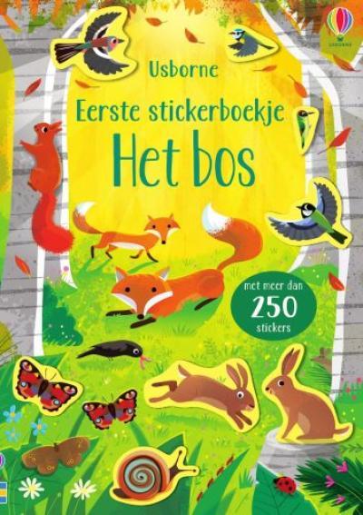 Eerste stickerboekje Het bos