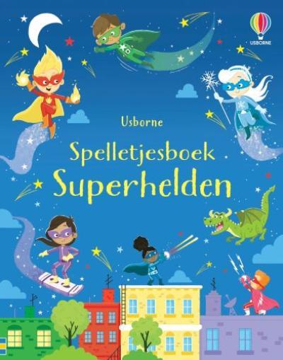 Spelletjesboek Superhelden