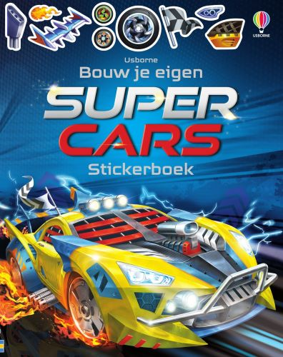 Supercars stickerboek