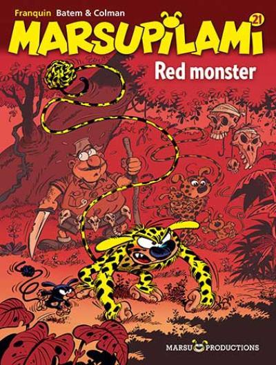 21 Red monster