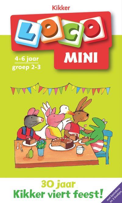 Pakket Loco Mini Kikker verjaardagspakket