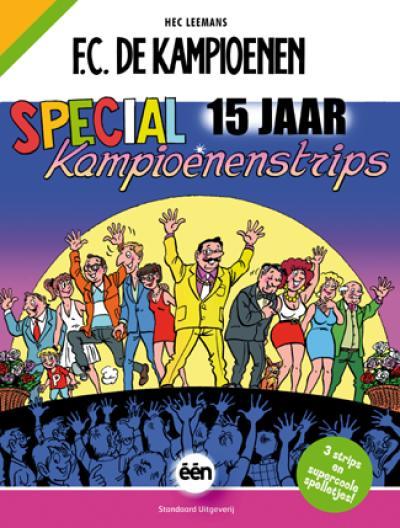 Special 15 jaar Kampioenenstrips!