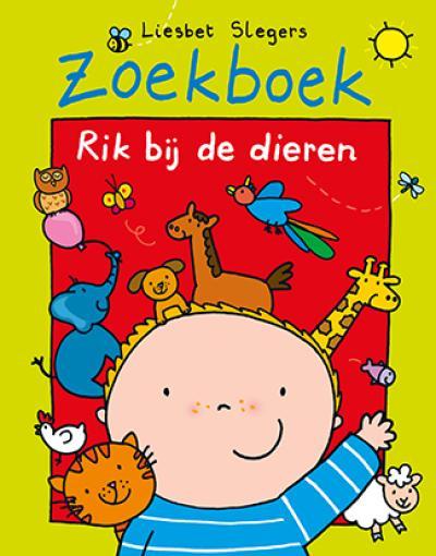 Zoekboek Rik bij de dieren