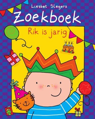 Zoekboek Rik is jarig