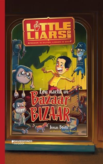 Little liars club Een nacht in Bazaar Bizaar