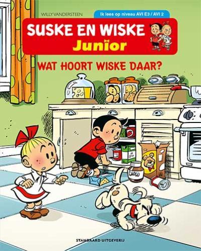 AVI E 3 Wat hoort Wiske daar?