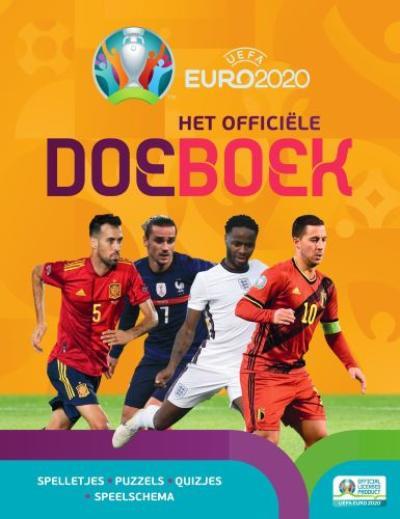 Euro 2020 Het officiële doeboek