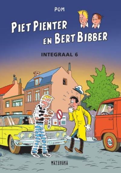6 Piet Pienter en Bert Bibber Integrale 6