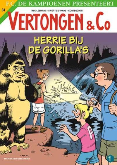 34 Herrie bij de gorilla's