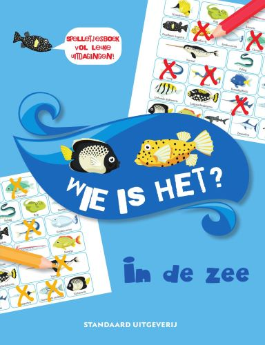 Wie is het ? In de zee