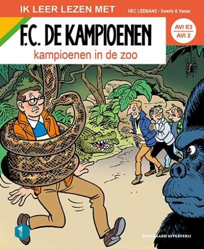 F.C. De Kampioenen AVI E3: Kampioenen in de zoo