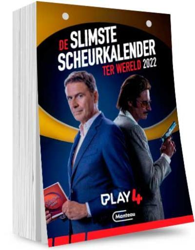 De Slimste Scheurkalender ter Wereld 2022