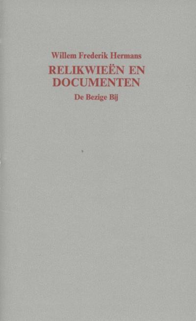 Relikwieën en documenten, een toespraak