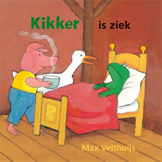 Kikker is ziek