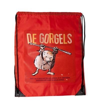 De Gorgels – gymtas rood