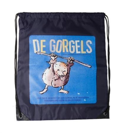 De Gorgels – gymtas blauw