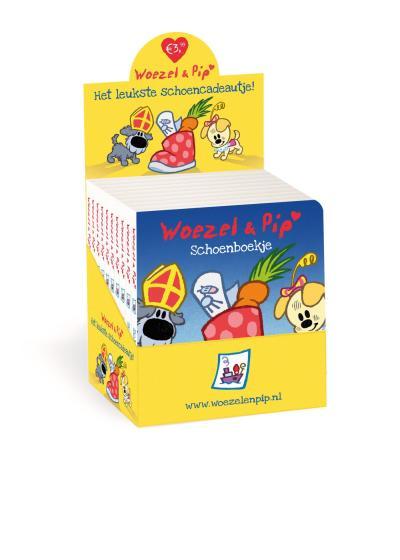 Woezel en Pip Schoenboekje Display 10 ex