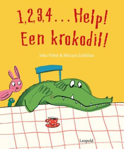 1, 2, 3, 4… Help, een krokodil!