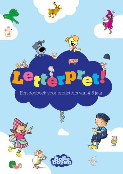 Letterpret! – Een doeboek voor pretletters van 4-6 jaar