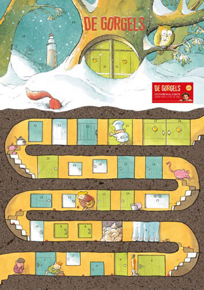 De Gorgels – Decemberkalender