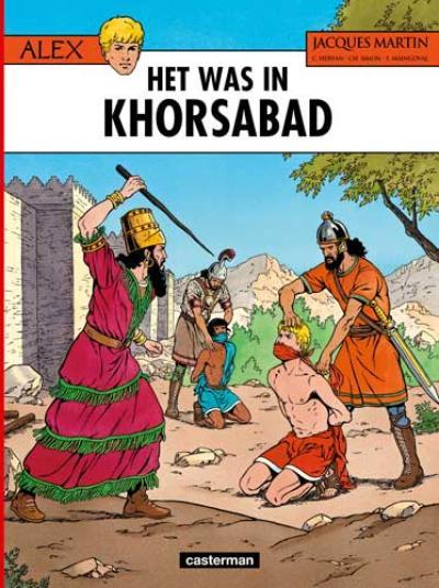 25 Het was in Khorsabad