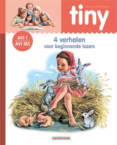 1 Tiny – 4 Verhalen voor beginnende lezers (roze) AVI 1 – M3