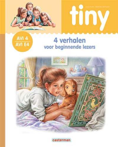 4 Tiny – 4 Verhalen voor beginnende lezers (oranje) AVI 4 – E4