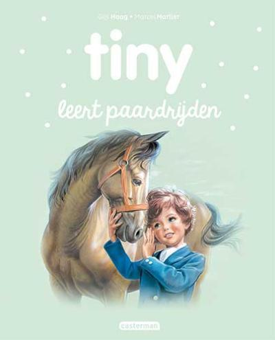 16 Tiny leert paardrijden