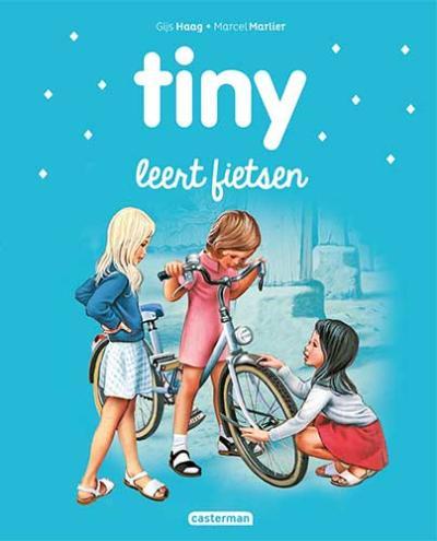 21 Tiny leert fietsen