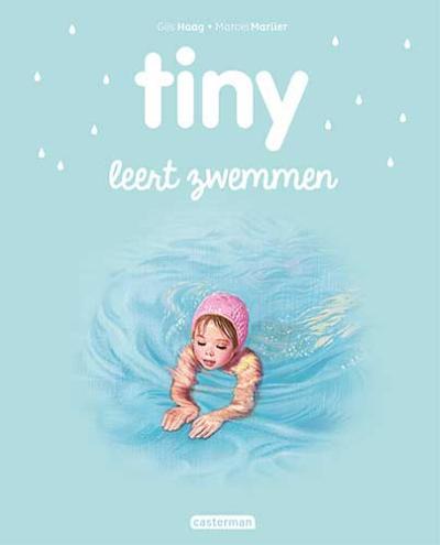 25 Tiny leert zwemmen