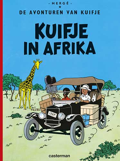 2 Kuifje in Afrika
