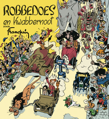 Robbedoes & kwabbernoot – Franquin 1947