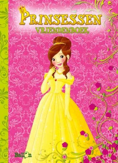 Vriendenboek Prinsessen