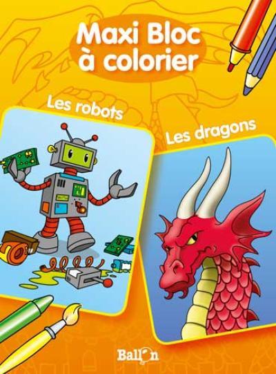 Les robots / Les dragons