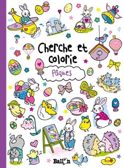 Cherche et colorie – Pâques