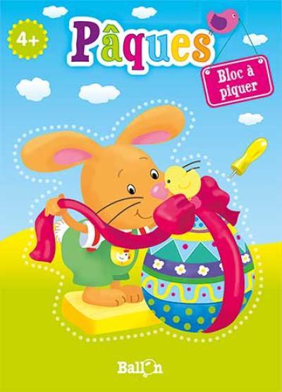 Bloc à piquer – Pâques