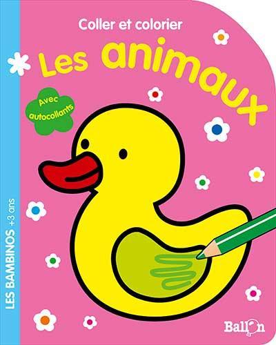 Coller et colorier les animaux