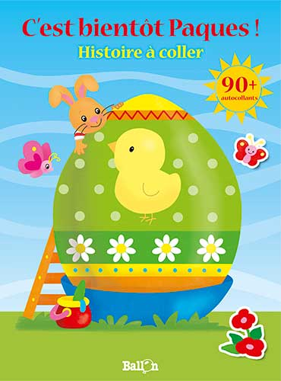 Histoire à coller : C'est bientôt Pâques !