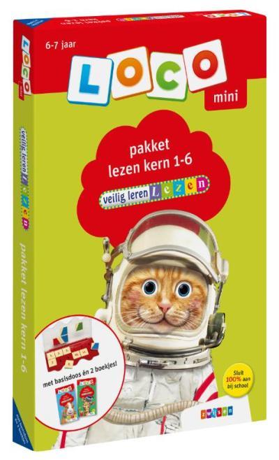 Loco mini veilig leren lezen pakket lezen kern 1-6