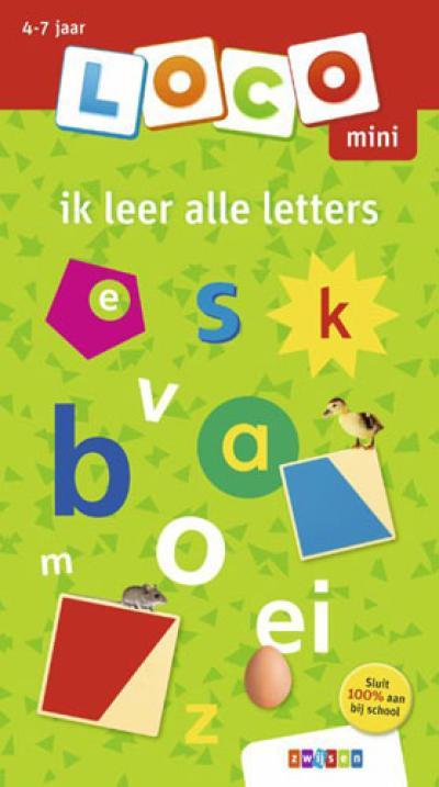 Loco mini ik leer alle letters