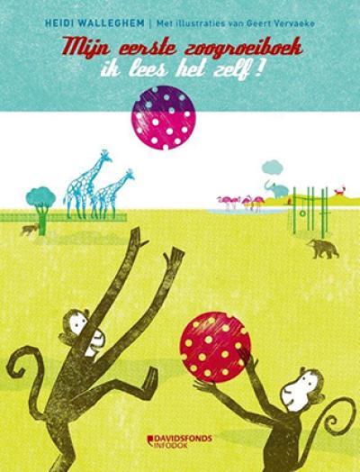 Mijn eerste groeiboek: In de zoo. Ik lees het zelf!