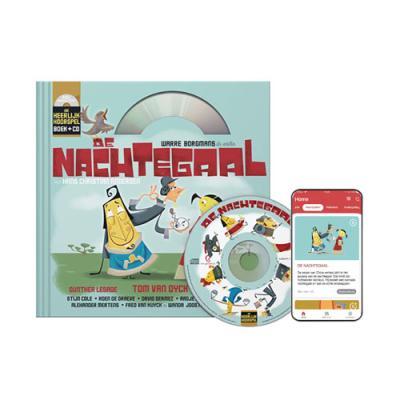 1 De Nachtegaal (5+) (Boek + CD)