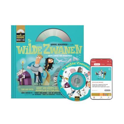 2 De Wilde Zwanen (6+) (Boek + CD)