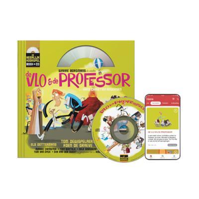 4 De Vlo en de Professor (7+) (Boek + CD)