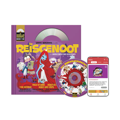 5 De Reisgenoot (8+) (Boek + CD)