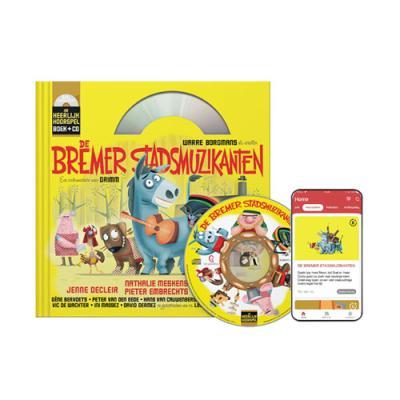 6 De Bremer Stadsmuzikanten (9+) (Boek + CD)