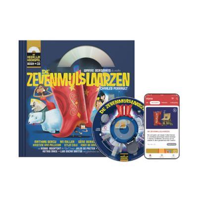 7 De Zevenmijlslaarzen (9+) (Boek + CD)